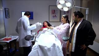 اضحك مع اجمد مشهد كوميدى ممكن يحصل فى عيادة مع دكتور ????????