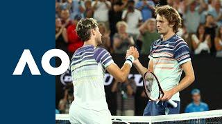 Dominic Thiem Vs Alexander Zverev - Extended Highlights  Sf  | Australian Open 2020