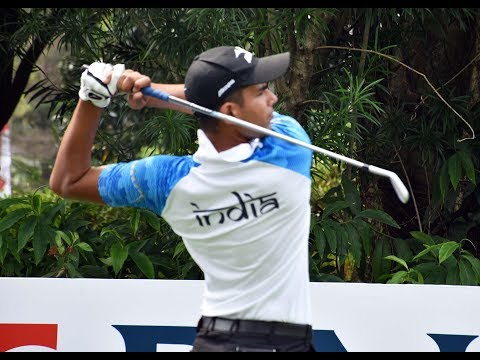 ASIAN GAMES 2018, AADIL BEDI 5 UNDER , GOLF HIGHLIGHTS DAY 2 JAKARTA INDONESIA