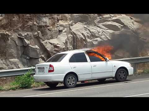 Outer ring road hyderabad car blast