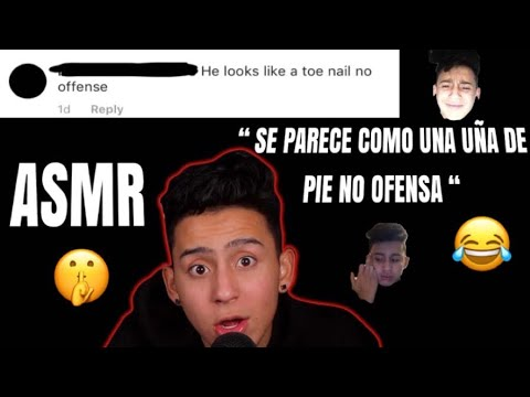 translating hate comments into spanish *ASMR*