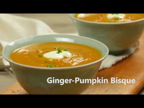 Ginger-Pumpkin Bisque