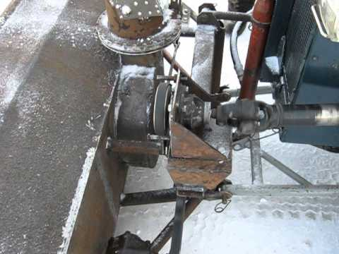 устройство снегоуборщика Т2