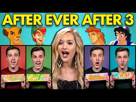 COLLEGE KIDS REACT TO AFTER EVER AFTER 3 Disney Parody