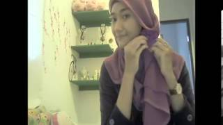 Hijab Tutoria Square: Simple Jilbab Pari...