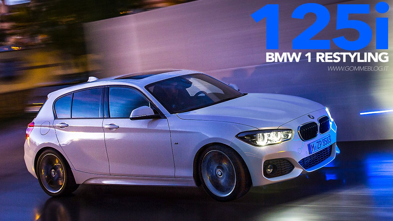 2015 new bmw 125i m sport driving youtube. Black Bedroom Furniture Sets. Home Design Ideas