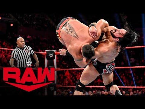 Rusev vs. Drew McIntyre: Raw, Nov. 4, 2019