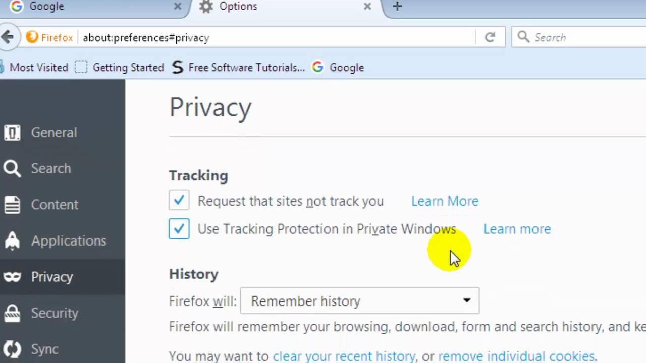 How to allow cookies in firefox - YouTube