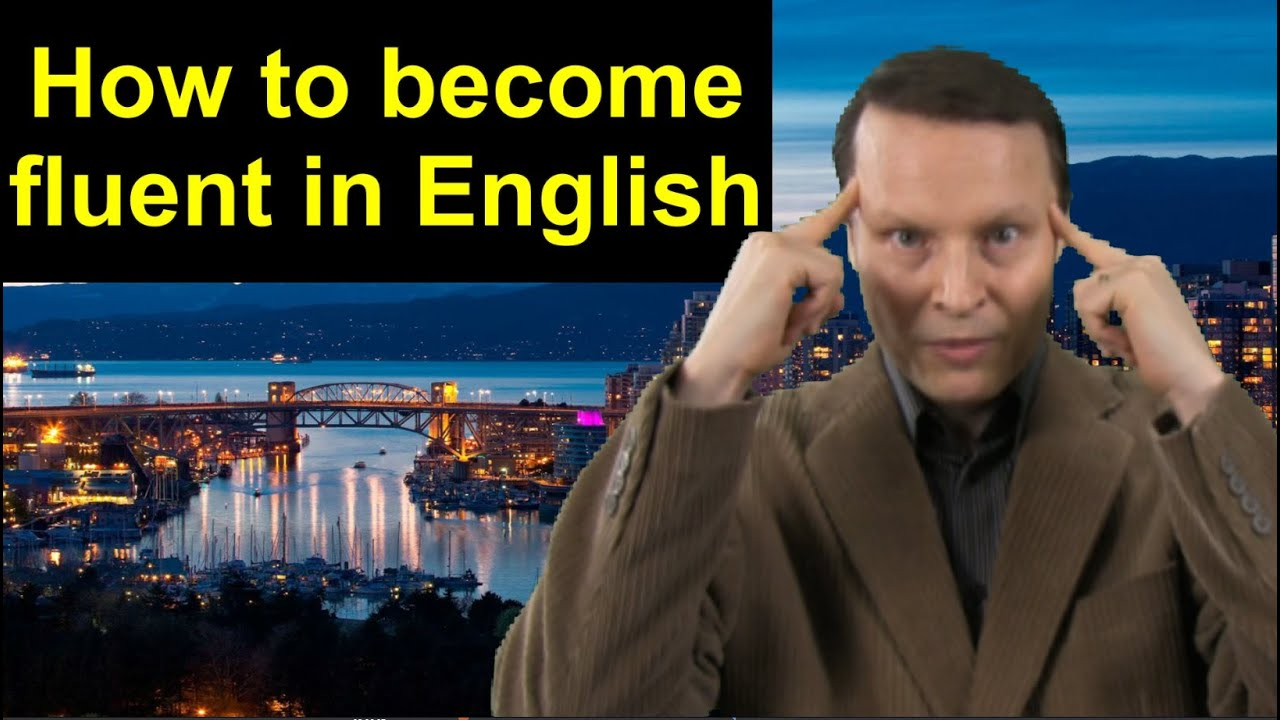 How to improve your English speaking - Learn English Live 18 with Steve Ford