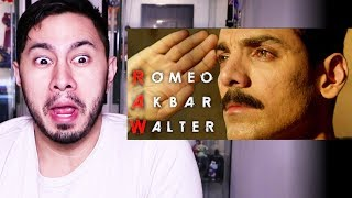 ROMEO AKBAR WALTER | John Abraham | Trailer Reaction!