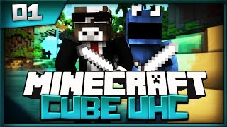 Minecraft Cube UHC Season 10 Episode 1 - We Got Lucky ( Minecraft Ultra Hardcore )