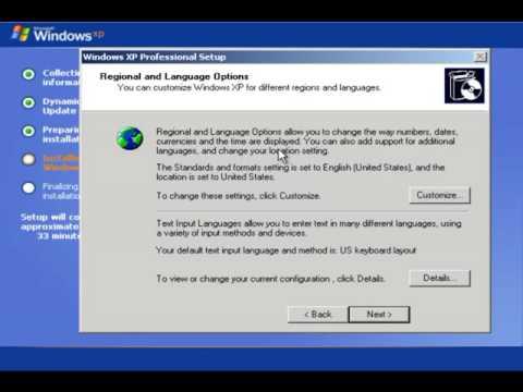 Cara Install Ulang Windows XP Profesional