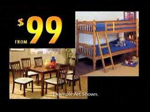 Payless Furniture Sofa King   YouTube