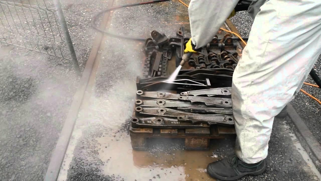 Ganz und zu Extrem Staubfreies Sandstrahlen - YouTube #TF_09