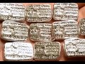 MPM 1 oz Poured Silver Bars Unboxing