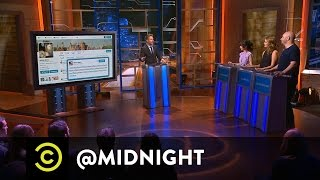 The #BieberRoast Panel Battles for POINTS! - @midnight with Chris Hardwick