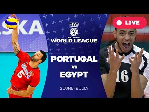 Portugal v Egypt - Group 2: 2017 FIVB Volleyball World League