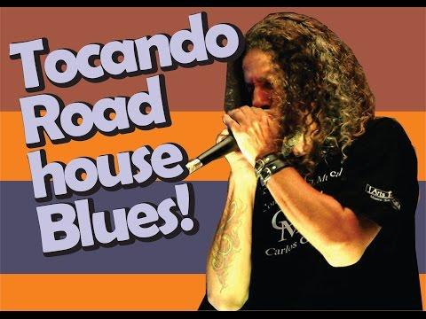 como tocar roadhouse blues | Harmônica - [ Gaita de boca ]