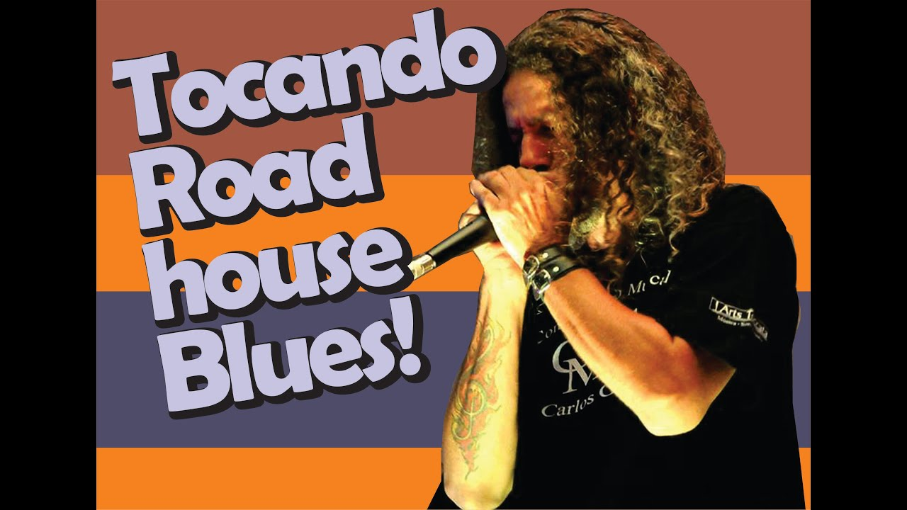 como tocar roadhouse blues | Harmônica - [ Gaita de boca ]