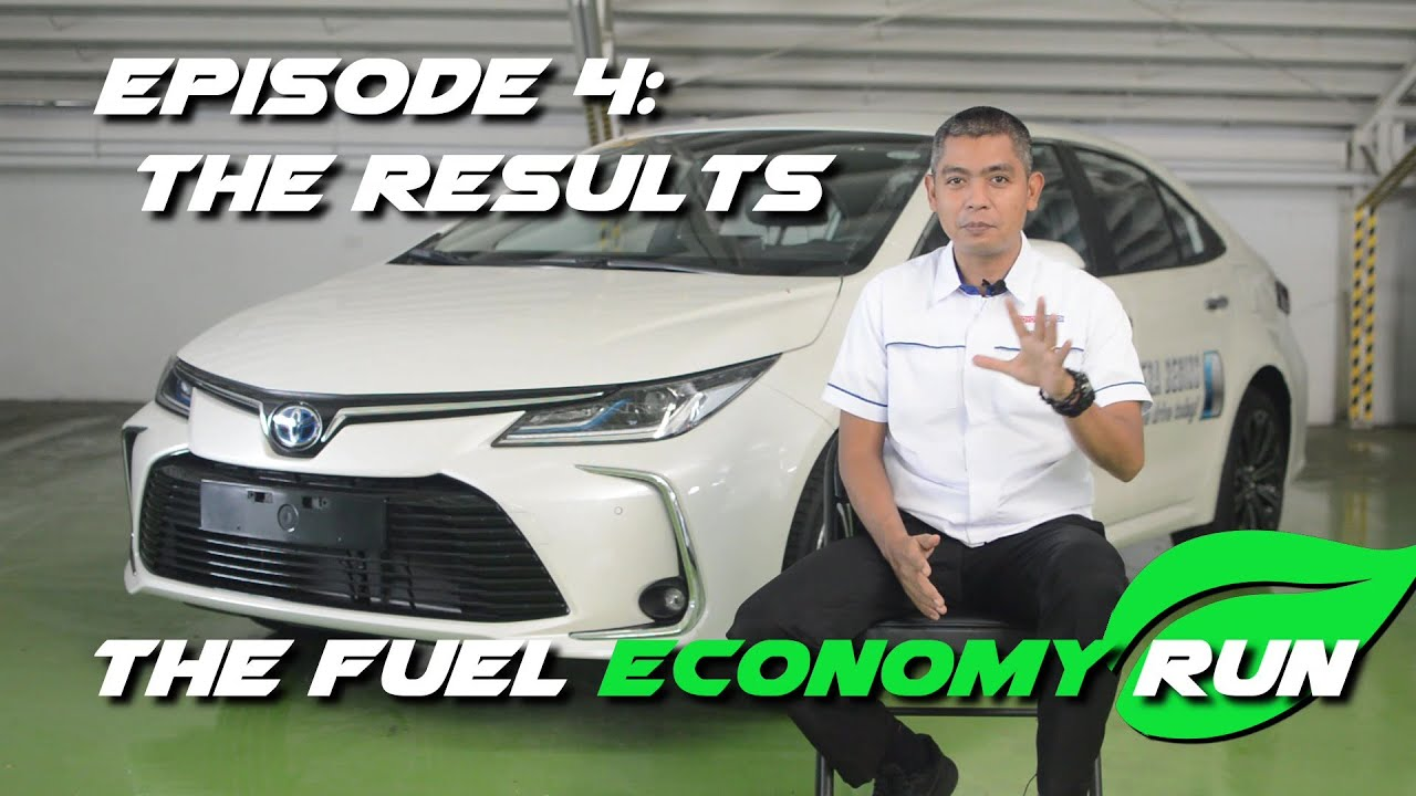 The Fuel Economy Run - The Results