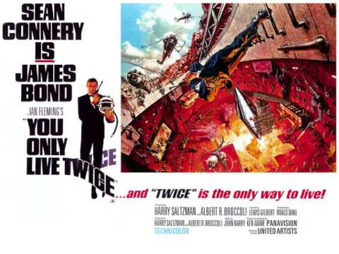 You Only Live Twice Soundtrack - Space March (Capsule In Space)