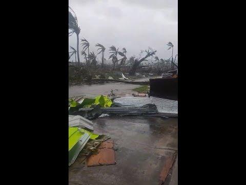 Super Typhoon Yutu aftermath in Tinian, Northern Mariana Islands ( 25 10 2018)