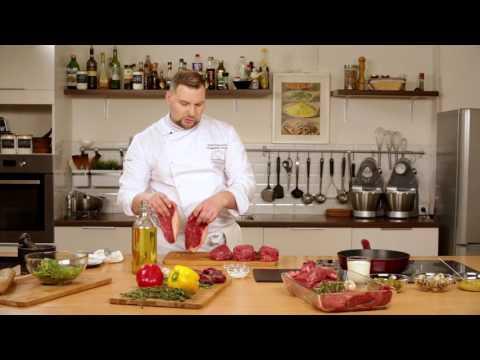 Как приготовить мясо видео