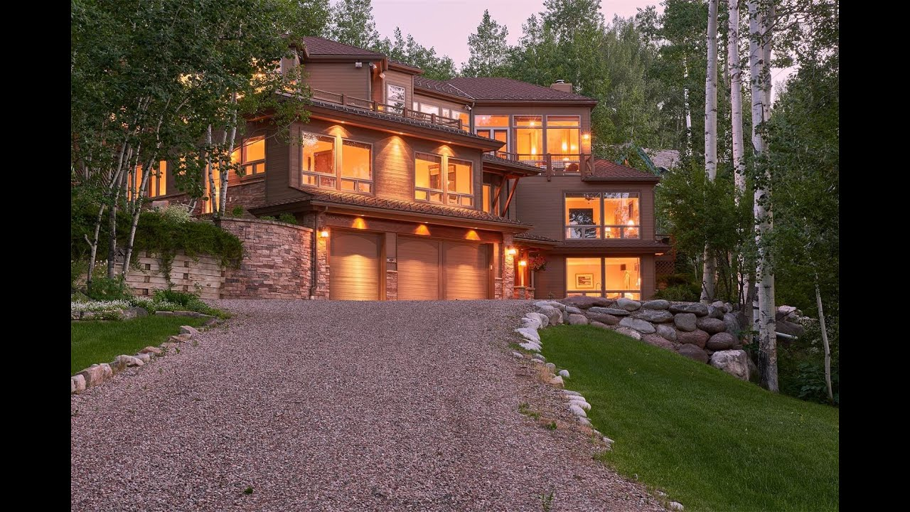 Mountain dream home in snowmass village colorado youtube for Mountain dream homes