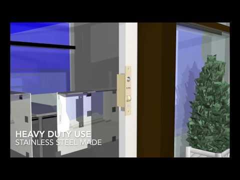 Electric lock for sliding doors