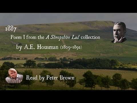 A Shropshire Lad: (I) 1887 (From Clee To Heaven) By AE Housman | Poetry Reading | #20