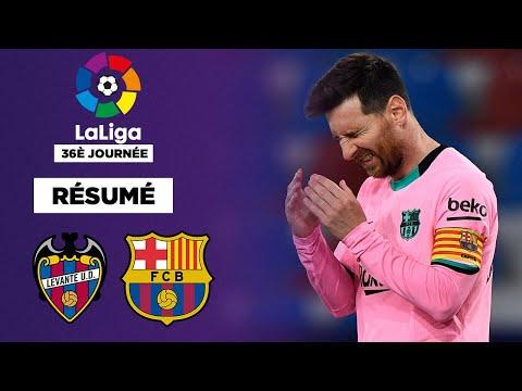 Résumé : Malgré Dembélé et Messi, le Barça perd très gros contre Levante !