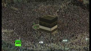 RAW: Hajj pilgrims walk around the Kaaba in Mecca