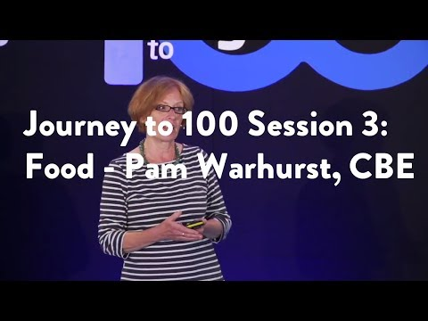 Journey to 100 Session 3: Food - Pam Warhurst, CBE [Functional Forum]