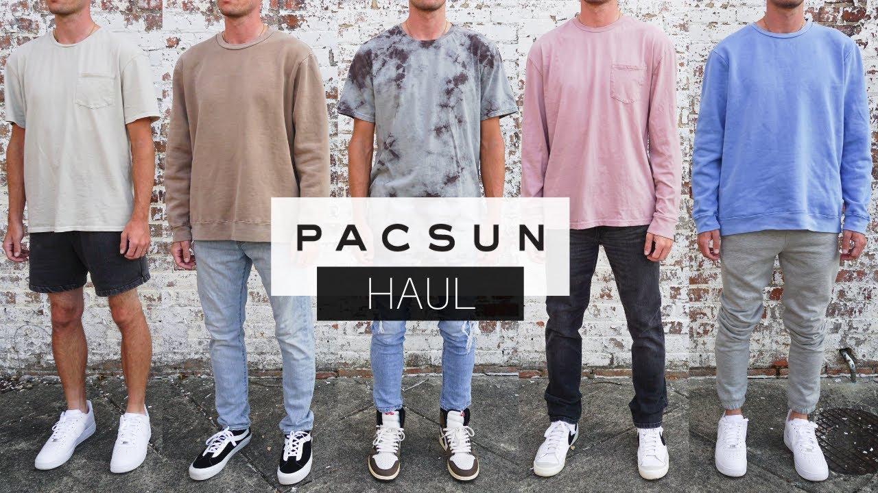 PacSun Basics Clothing Haul