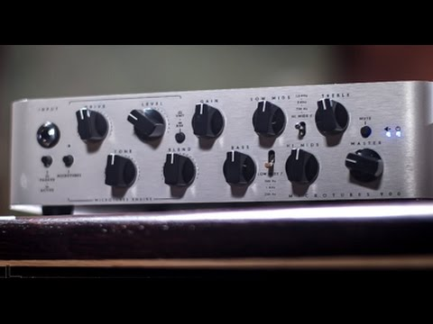 fc911d8eff1 Darkglass Microtubes 900 Bass Amp Head Demo - YouTube