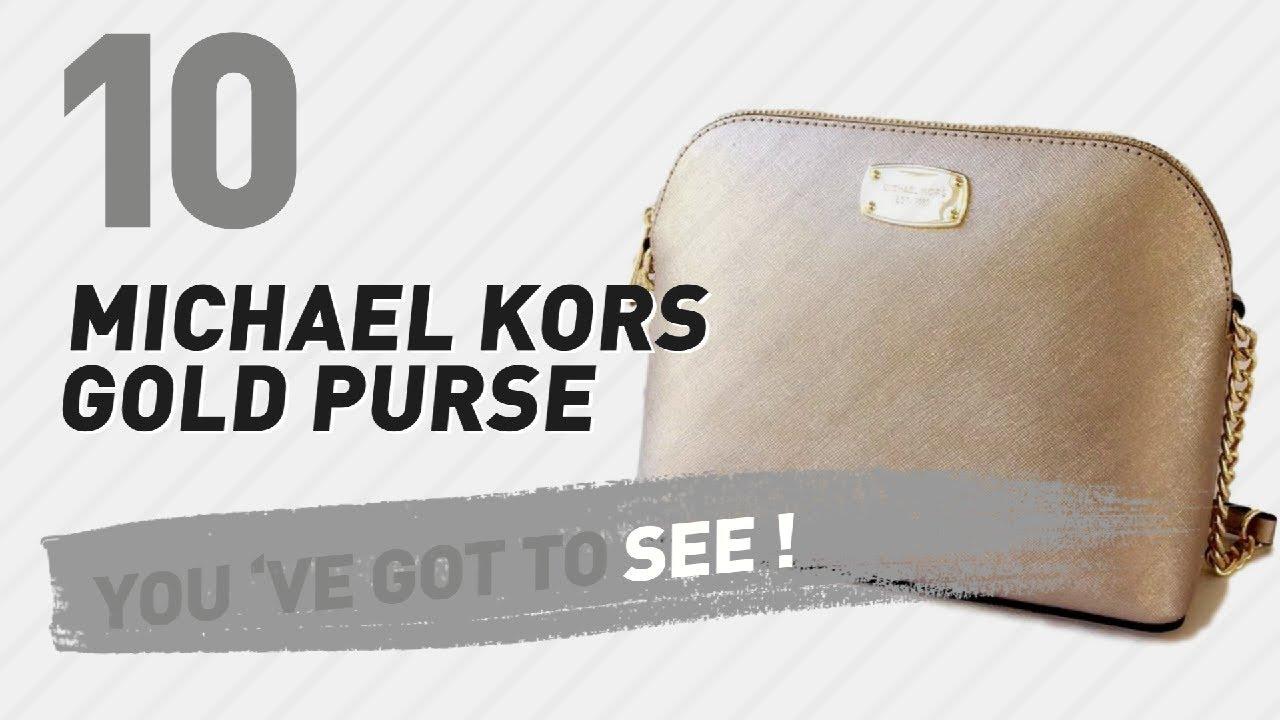 Michael Kors Gold Purse 73b2340414ca