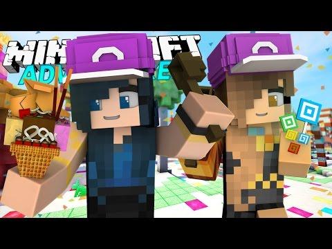 MY ICE CREAM JOB | Minecraft Adventures - Candyland #2 (Minecraft Roleplay)