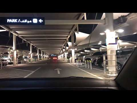 @Qatar airport parking area
