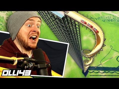 Human Roller Coaster Survival Test 2.0 - Planet Coaster |