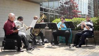 UNCW Brass Quintet at Cape Fear Community College - Song 6