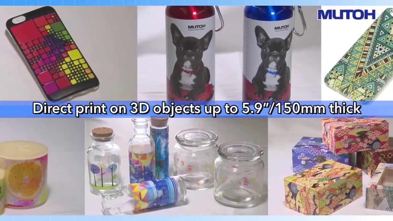 Desktop A2 Flatbed LED UV Printer