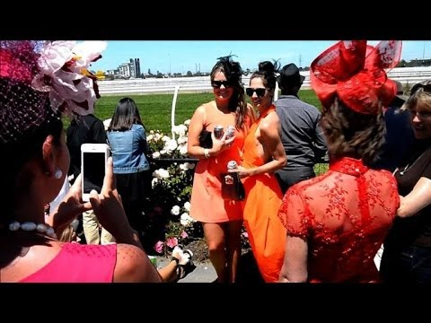 Aussies glam up for the Melbourne Cup