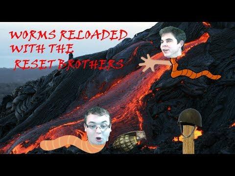 """ResetBrothes play """" Worms Reloaded"""" I HIT AAAAAAAAAA  """