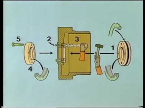 Overhauling Procedure of Exhaust valve for 2 stroke Marine Engine