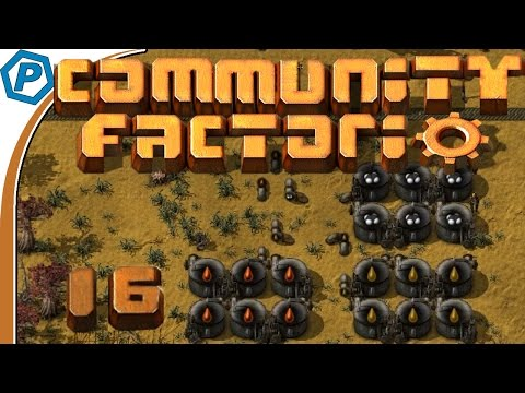 Processed Oil Storage | Factorio | Community Server | #16