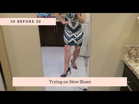 shoe-try-on-payless-|-30-before-30