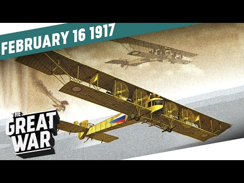 Russian Bombing On The Eastern Front - US Prisoners of War I THE GREAT WAR Week 134