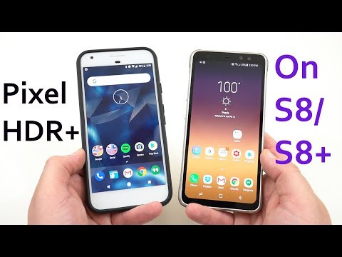 Galaxy S8 Running Pixel HDR+ Camera: Review/Comparison to Stock