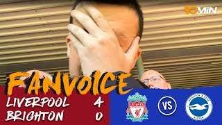 Liverpool in Champions League after destroying Brighton! | Liverpool 4-0 Brighton | 90min FanVoice