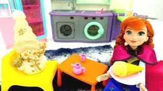Холодное сердце мультфильм. Кому Анна готовит мороженое?